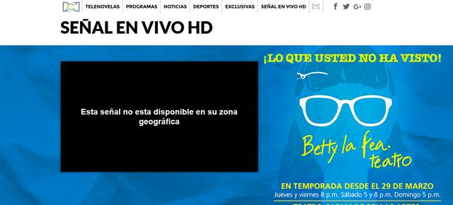RCN (Colombia) Antes - Sin VPN