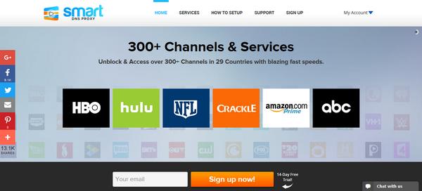 Smart DNS Proxy - Página Oficial
