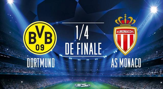 Dónde y cómo ver Borussia Dortmund - AS Mónaco (ida y vuelta cuartos ...