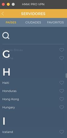 HideMyAss Honduras