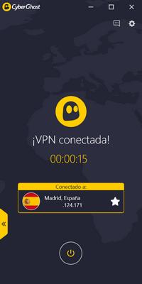 CyberGhost VPN - Conexión 2/2