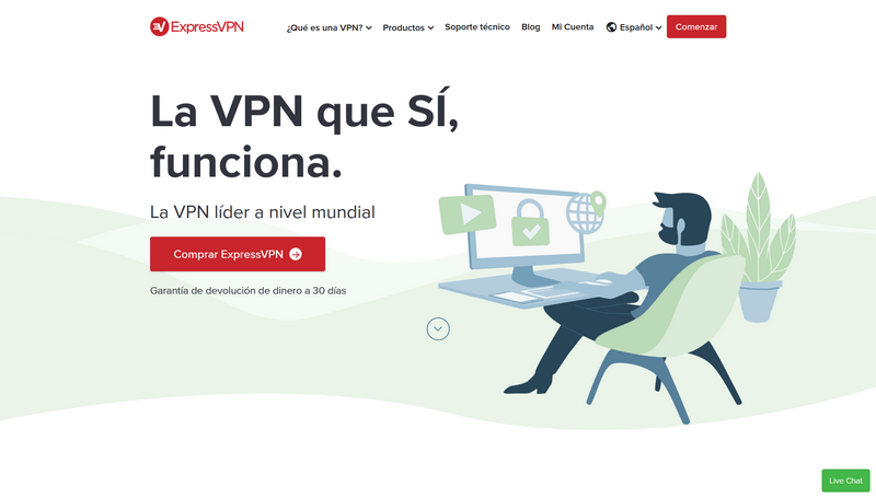 ExpressVPN - Página Oficial