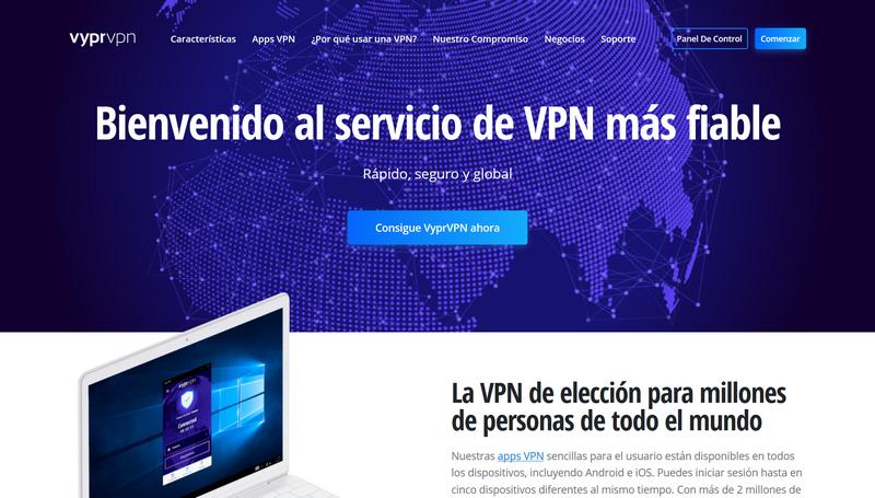 VyprVPN - Pagina Oficial