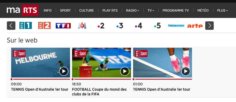 Australian Open en RTS