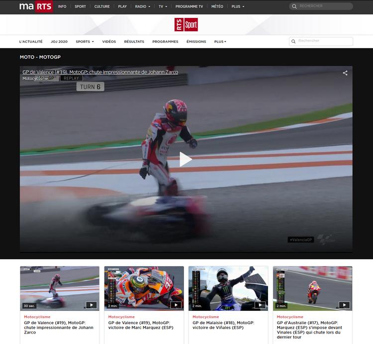 MotoGP en RTS