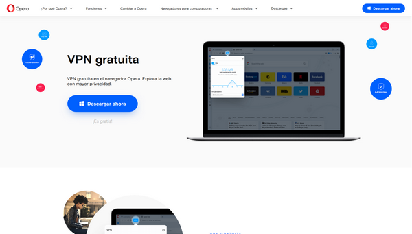 Opera VPN - Página Oficial