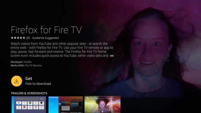 Firefox para Fire TV