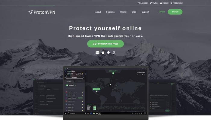 ProtonVPN - Página oficial