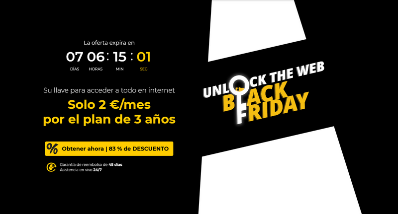 CyberGhost - Black Friday