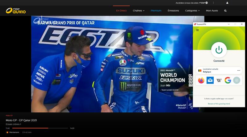 MotoGP en RTBF