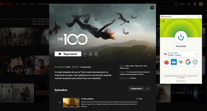The 100 Temporada 7 en Netflix