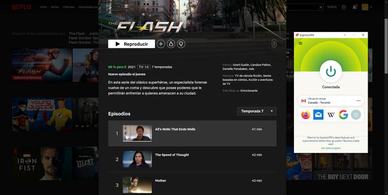 The Flash S07 en Netflix
