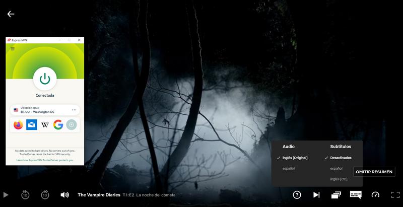 Vampire Diaries en Netflix
