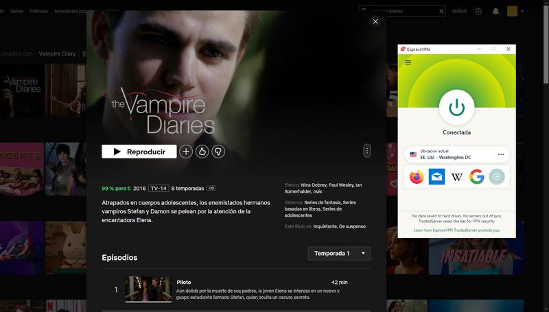 The Vampire Diaries en Netflix
