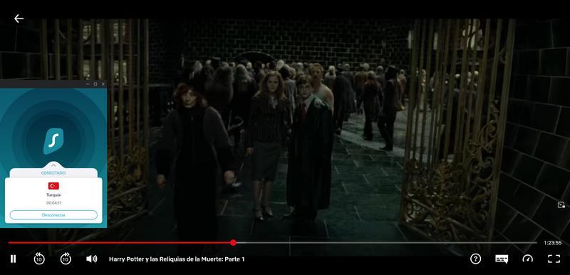 Cómo ver Harry Potter en Netflix