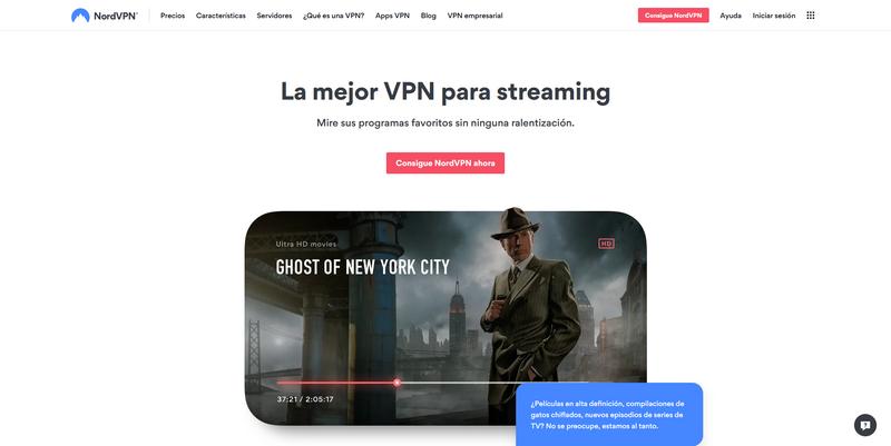 NordVPN para Netflix