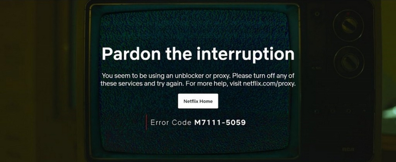 Netflix - Error